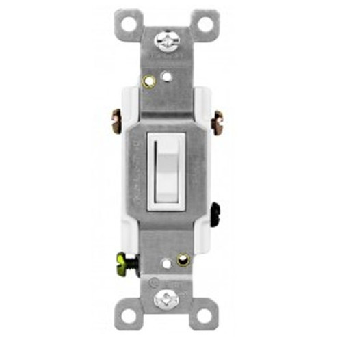 Enerlites Commercial Grade Toggle Switch Three-Way 20A, 120/277VAC