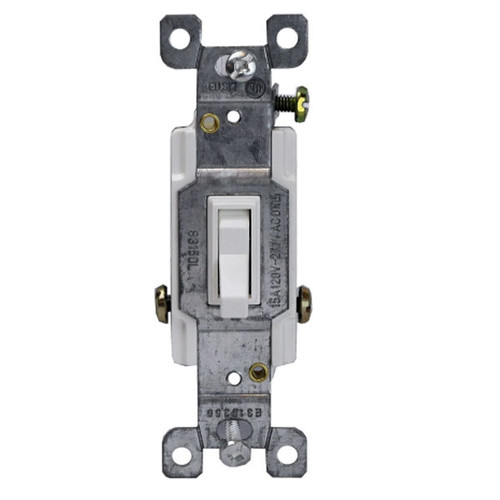 Enerlites Residential Grade Three-Way Toggle Switch 15A, 120/277VAC