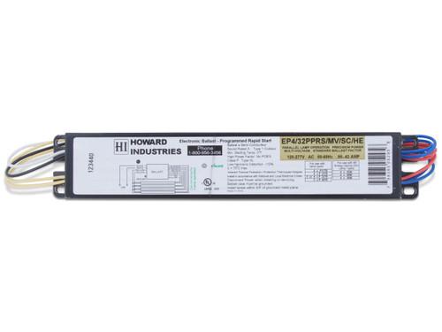 4 Lamp F32T8 Electronic Ballast - EP4/32PPRS/MV/SC/HE