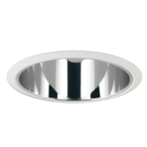"""8"""" Open Haze Clear Reflector Trim for Architectural & Commercial LED"""
