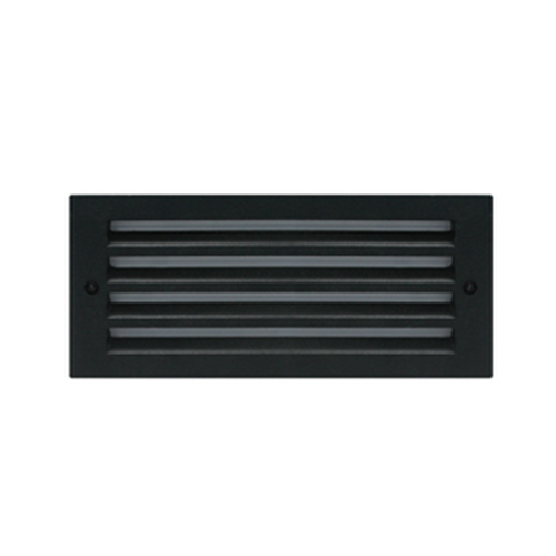 Louvered Face Plate for LED Exterior Step Light