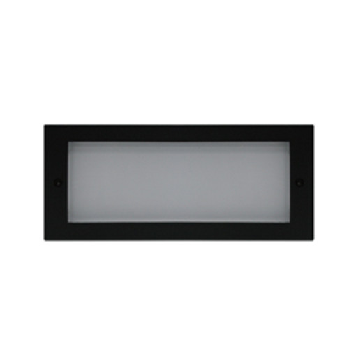 Open Face Plate Trim for LED Exterior Step Light