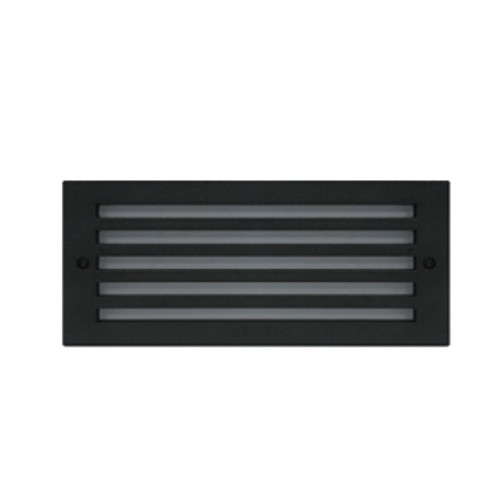 Grilled Face Plate Trim for LED Exterior Step Light