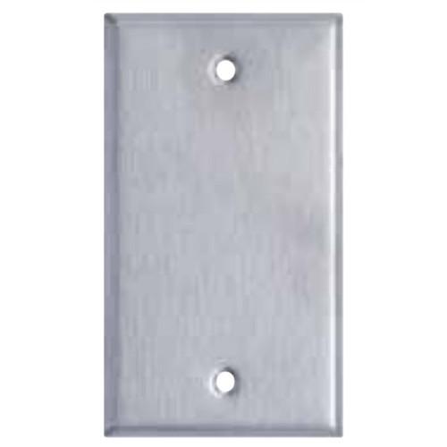 Enerlites Commercial Blank Wall Plate 1-Gang Stainless Steel