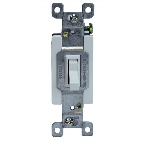 Enerlites Commercial Toggle Switch Single Pole 20A, 120/277V