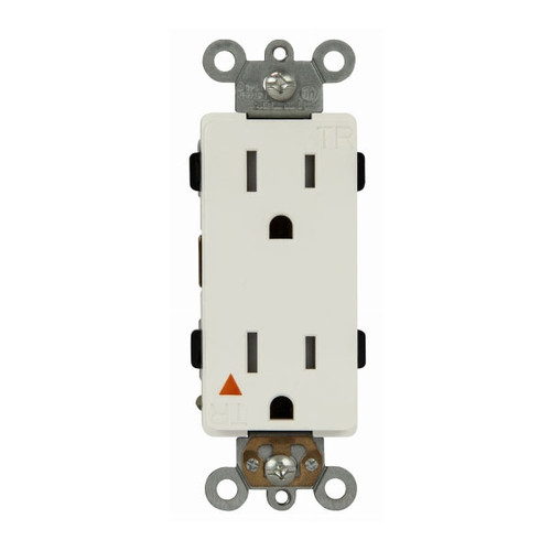 Enerlites Isolated Ground TR Decorator Receptacle 15A/125V, 5-15R