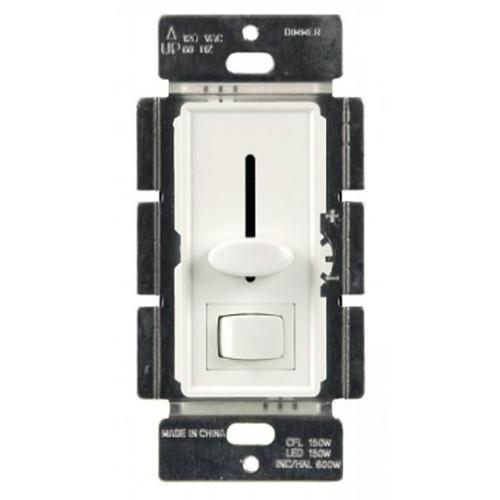 Enerlites LED/CFL Slide Dimmer/Switch Single Pole/3-Way