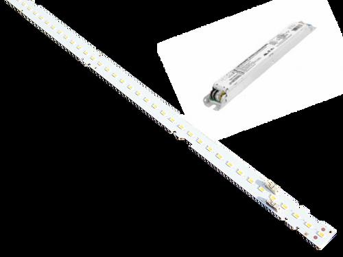 HiLumz 4 Foot 3 Strips Highbay Linear LED Retrofit Kit 108 Watts