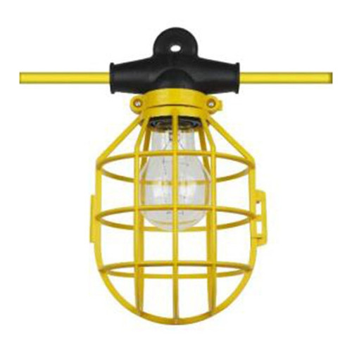 Sunlite 75W Max Cage String Light Plastic