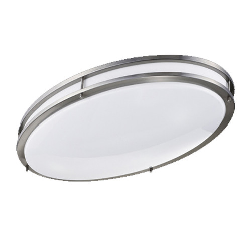 Teron Lighting Nike Oval BFP LED Architectural Indoor