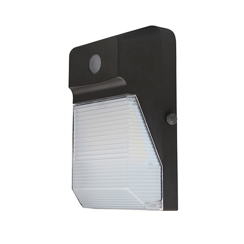 LED Wall Pack with Frosted Polycarbonate Lens