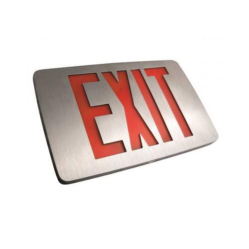 Thin Die-Cast Aluminum Exit Sign
