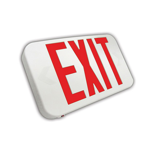 Rounded Compact Thermoplastic Exit Sign