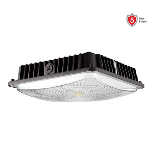 Mills Economy 45W LED Canopy Light with Sensor and Emergency Battery Options
