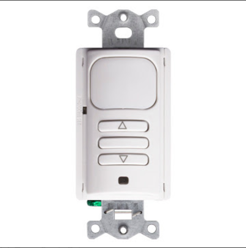 Leviton 0-10V Passive Infrared Dimming Wall Switch Sensor with Occupancy and Vacancy Modes