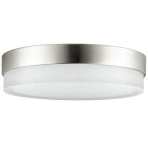 Sunlite LED 20 Watt Decorative Half Band & Half Glass Ceiling Light, 3000K Warm White