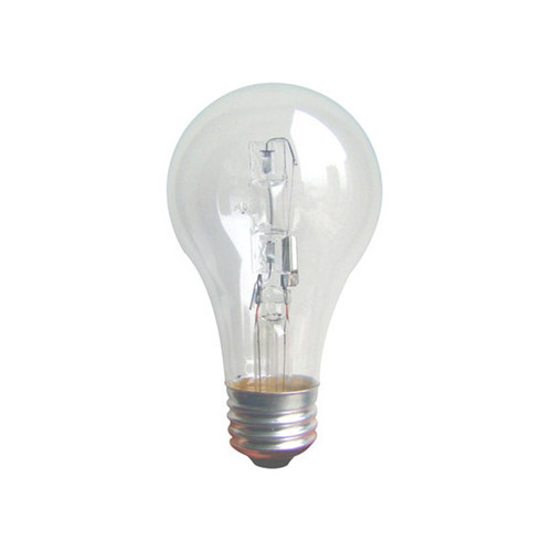 EiKO Halogen A19 43W Clear 120V Lamp