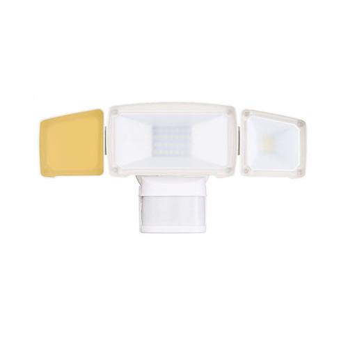 Cyber Tech 20W Triple Flat Face Head LED Motion Security Lighting