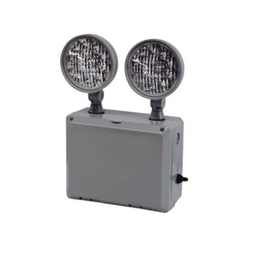 Wet Location Remote Capable LED Emergency Unit with Weather Heater Included