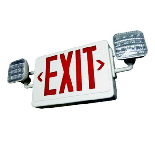 All LED Exit & Emergency Combo