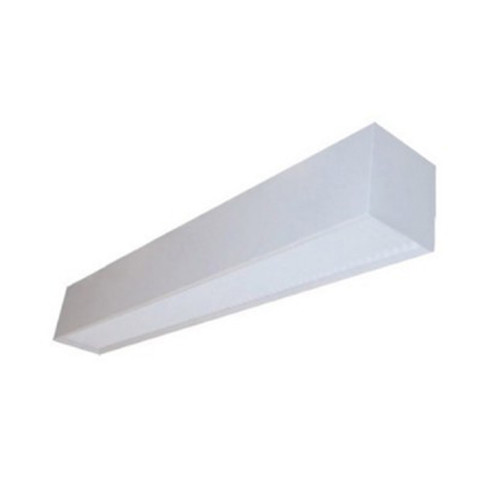 2-Foot Recessed TBAR X1 LED T8 2 Lamp Included 2x15W