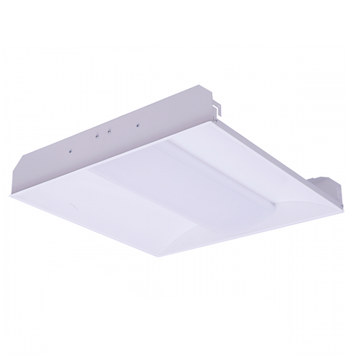 2x2 White Painted Steel Body LED Troffer