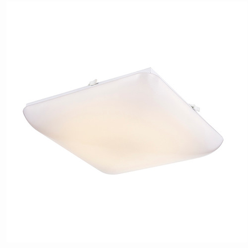 Square Puff LED Ceiling Fixture