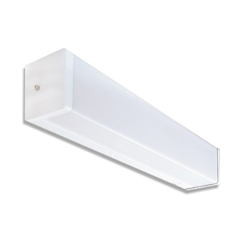 4-Foot 4.3 LED Wall Linear Fixture (Clear Prismatic Acrylic)