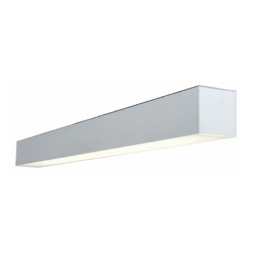 4-Foot 6 x 6 LED Linear Wall Mount Fixture (Uplight & Downlight)