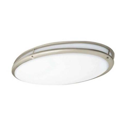 32 x 17 Oval Ringed Decorative LED Ceiling Lighting