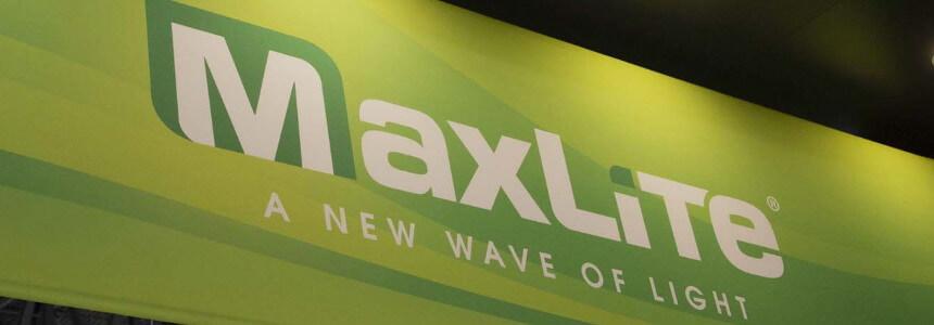 MaxLite Banner