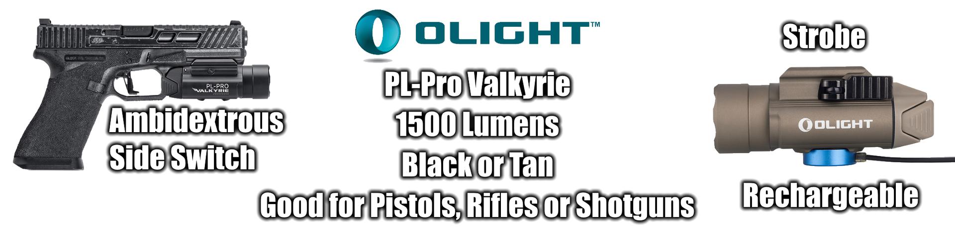 Olight PL Pro Weapon Light Outdoor Stockroom