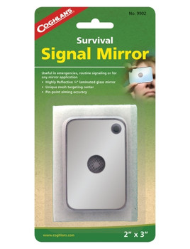 Coghlans - Signal Mirror - 9902 - Outdoor Stockroom