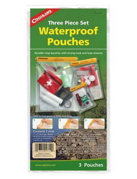 Coghlans - Water Resistant Pouch Set - 9710 - Outdoor Stockroom