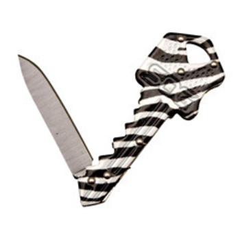 SOG - Key Knife - Zebra - Outdoor Stockroom