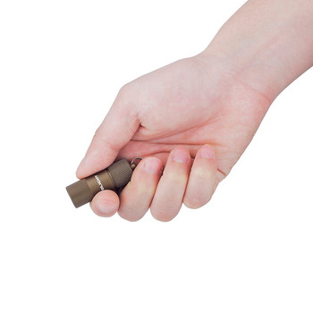 Olight I1R 2 EOS Desert Tan Keychain Flashlight - Outdoor Stockroom