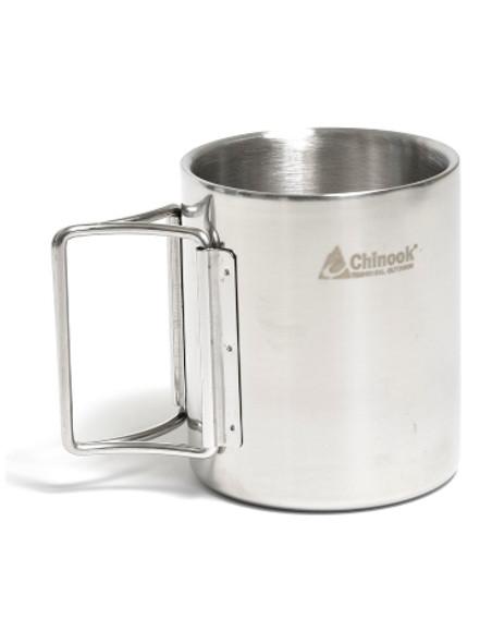 Chinook - Timberline Mug With Folding Handles - 42125 - Outdoor Stockroom