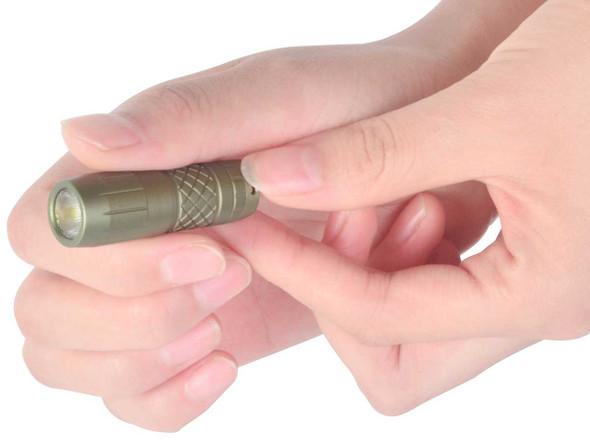 Klarus Mini One Olive Drab Everyday Carry Key Chain Flashlight - Outdoor Stockroom