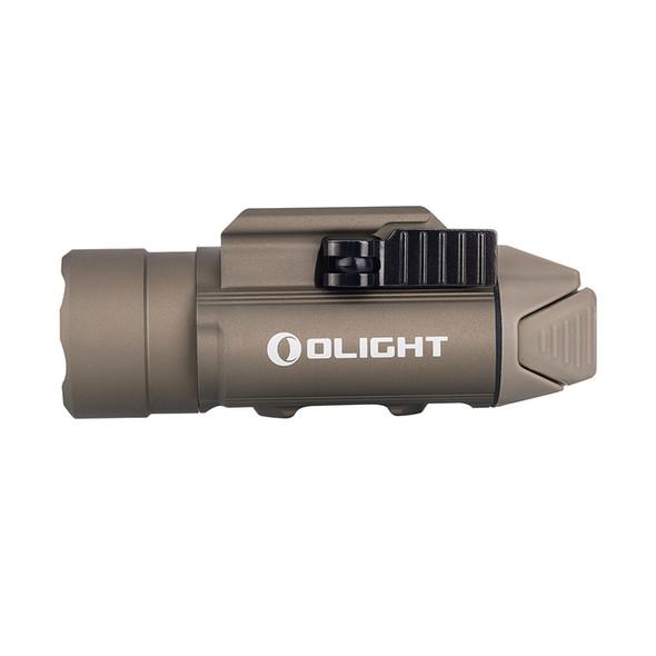 Olight PL-PRO Valkyrie Desert Tan Rechargeable Weapon Light - Outdoor Stockroom