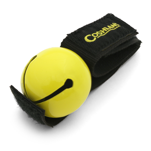 Coghlans - Magnetic Bear Bell | Yellow | 0758 | Outdoor Stockroom