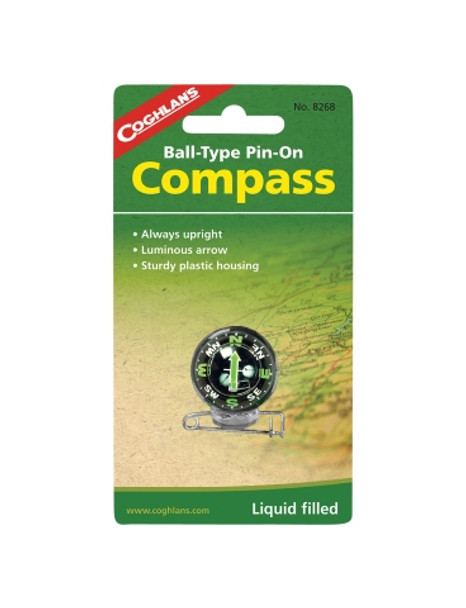 Coghlans - Pin On Compass - 8268 - Outdoor Stockroom