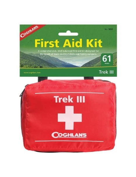 Coghlans - Trek 3 III First Aid Kit - 9803 - Outdoor Stockroom