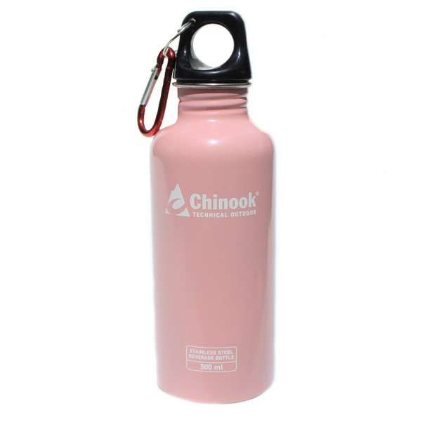 Chinook - Cascade 500 ML Water Bottle - Pink - 41132 - Outdoor Stockroom