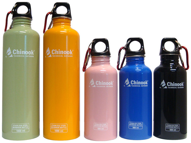 Chinook - Cascade 1 L Water Bottle - 41137 - Outdoor Stockroom