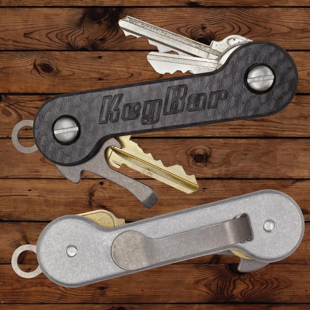 Aluminum Carbon Fiber KeyBar Key Organizer | Outdoor Stockroom