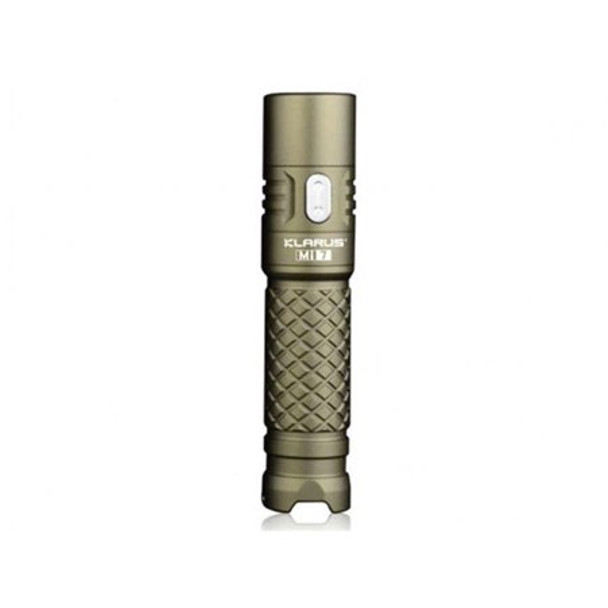 Klarus MI7 Olive Drab EDC FLashlight - Outdoor Stockroom