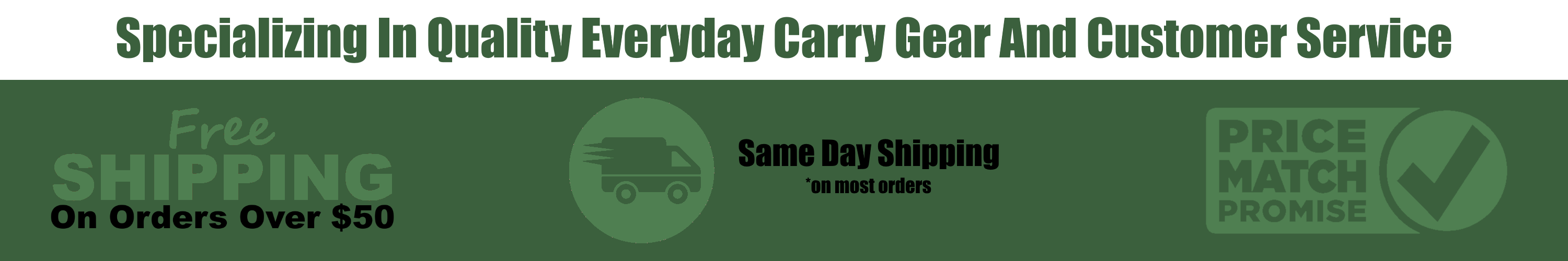 Outdoor Stockroom EDC Everyday Carry Value Proposition