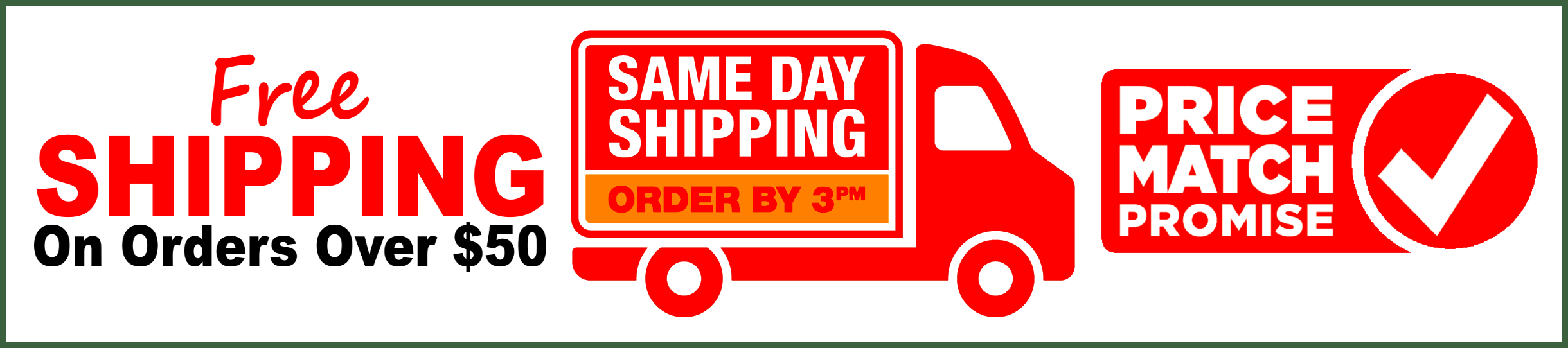 Free Shipping Over $50 From Outdoor Stockroom