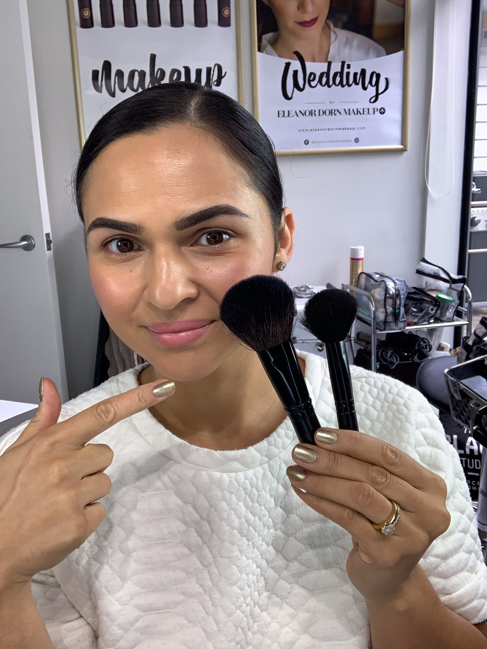 TIP TUESDAY:  Big VS Small powder brush