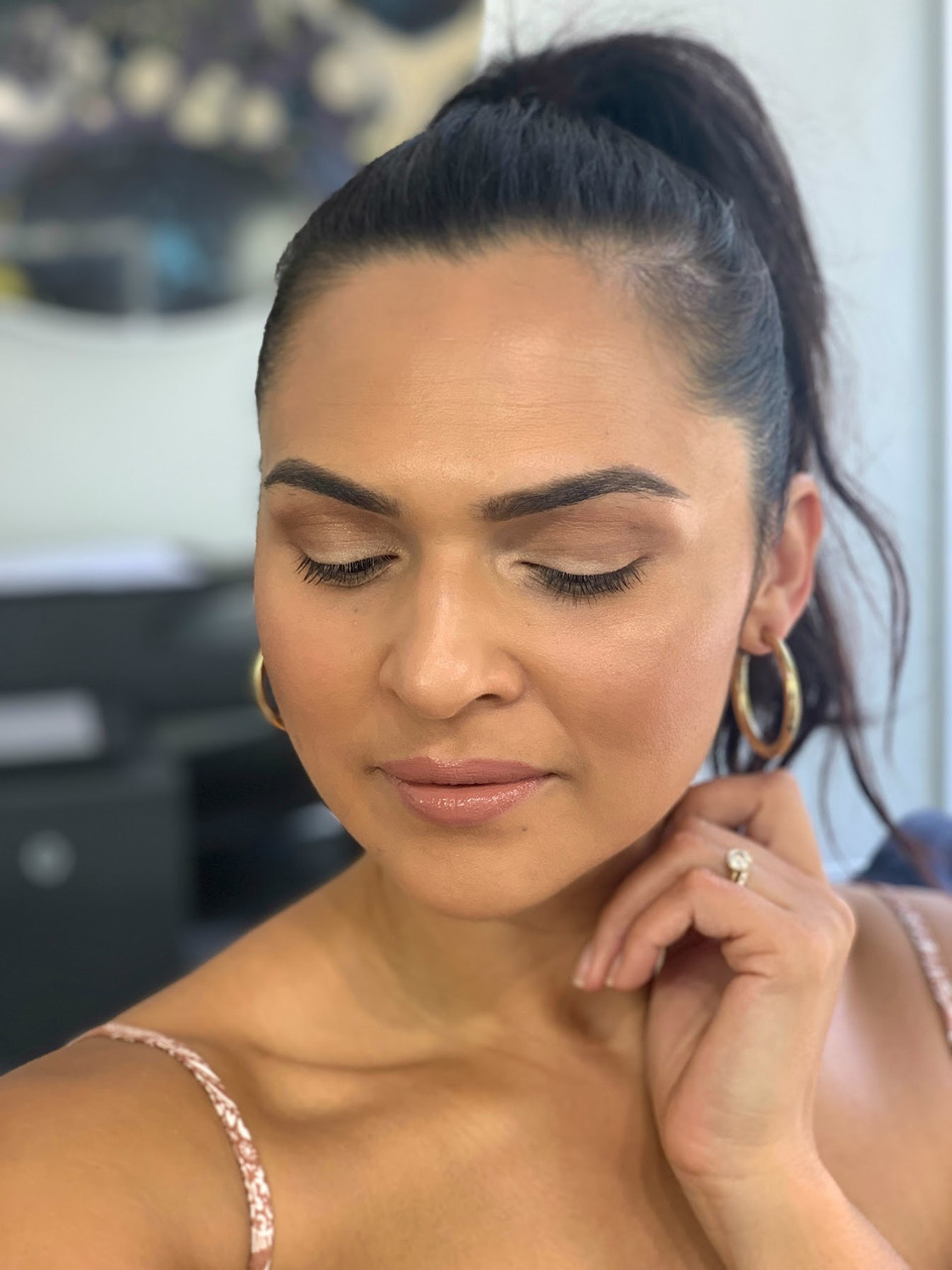 FRIDAY GLAM:  Simple summer look